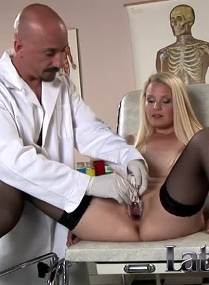 Angel Spice visits the doctor for a hard banging, among other things!
